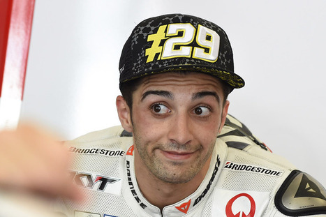 Iannone: I share the merit with Ducati | Ductalk Ducati News | Scoop.it