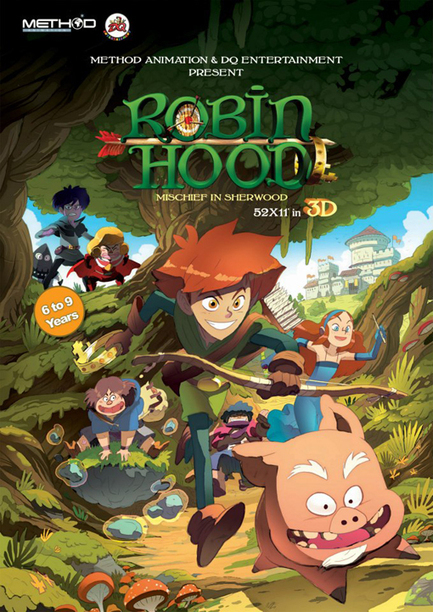 ANIMATION MAGAZINE | PGS Sells Method/DQE's 'Robin Hood' to Key Broadcasters | Robin Hood - Mischief in Sherwood | Scoop.it