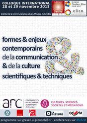 Formes et enjeux contemporains de la communication et de la culture scientifiques et techniques | Transmédia et Musées | Scoop.it