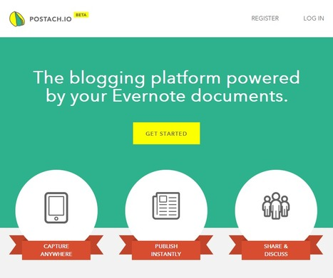 Postach.io | The Evernote Site Generator | Time to Learn | Scoop.it