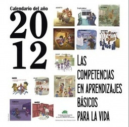 Calendari 2012 sobre CompetènciesBàsiques | Educació&Tic i altres recursos | Scoop.it