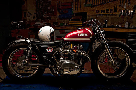 Custom Yamaha XS650 | Marcello's Digest | Scoop.it