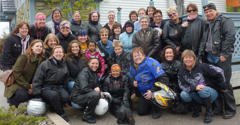 Women's motorcycle club: Taking the scenic route   Motorcycle Accident Florida News   Scoop.it