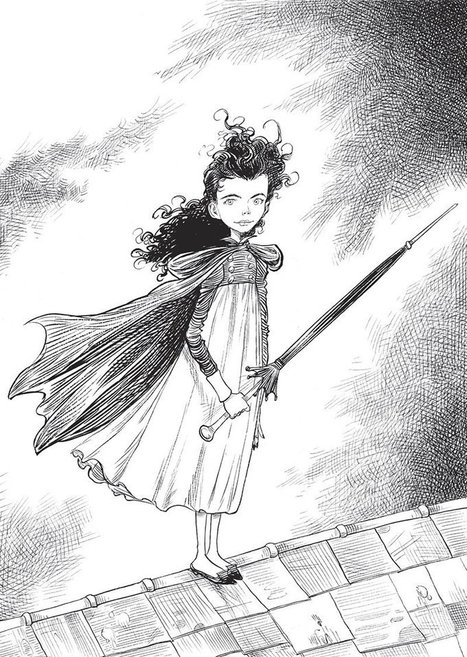 Goth Girl and the Ghost of a Mouse by Chris Riddell – review | Libraries and reading | Scoop.it