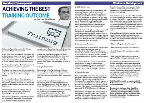How to Ensure the Best outcome from your Training session . | Training & Development Talents | Scoop.it