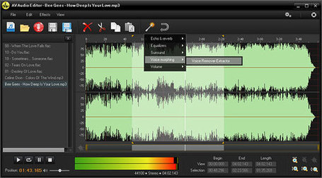 AV Audio Editor - copy, cut, split, paste, merge, record and apply various built-in effects and filters | paprofes | Scoop.it