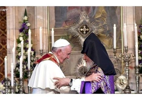 Príhovor pápeža Františka v katedrále Arménskej apoštolskej cirkvi v Ečmiadzine | Správy Výveska | Scoop.it