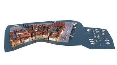 Port de plaisance en 3D   3D Library   Scoop.it