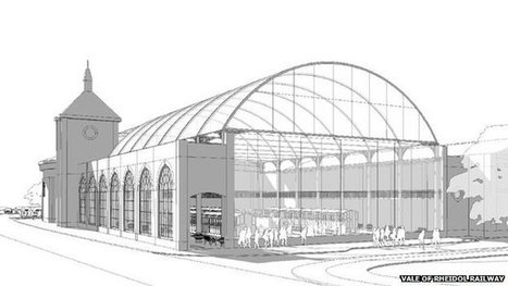 London Bridge station roof set for Aberystwyth museum | AC Affairs | Scoop.it