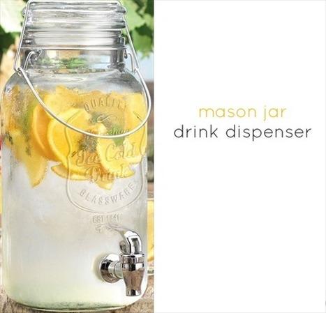 + Tendencias: Utilizá frascos como vasos. | Candy Bar | Scoop.it