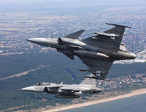 Czech Air Force To Buy Air-to-Ground Missiles - Gripen | Aviation news | Scoop.it