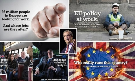 New Ukip posters which focus on immigration branded 'racist' | Fresh Marketing News | Scoop.it