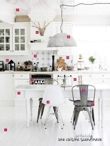 Get the look | 10 idées déco pour une jolie cuisine scandinave | décoration & déco | Scoop.it