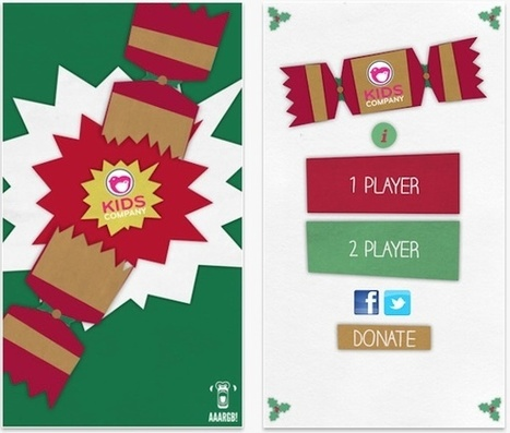 Kids Company's Christmas Cracker app encourages text donations | Christmas fundraising | Scoop.it