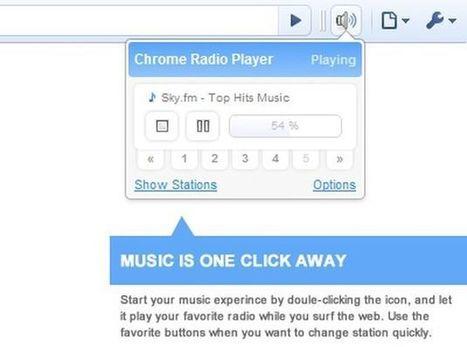 Chrome Radio Player, escucha radios de todo el mundo mientras navegas   Recull diari   Scoop.it