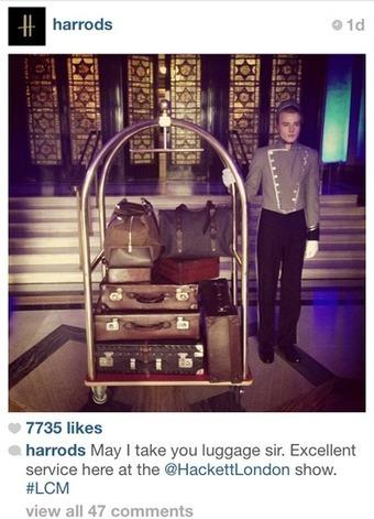 Harrods, Mr Porter broadcast London Fashion Week to show versatility   Mobile Buzz   Scoop.it