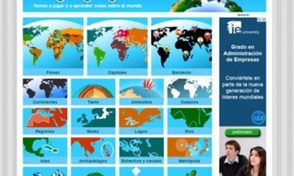 Juegos para estudiar Geografía en Secundaria. | Geografía secundaria | Scoop.it