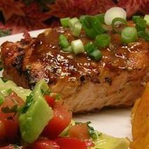 Twitter / EatNutritious: Chile Garlic BBQ Salmon ... | On The Grill | Scoop.it
