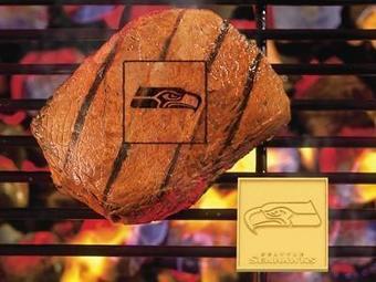 Seattle Seahawks NFL Sports Fan Grill Branding Iron | Seattle Sports Teams | Scoop.it