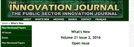The Innovation Journal: What is new? | User Interface and Learning Design | Scoop.it