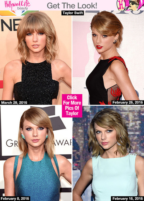 Taylor Swift's Hair 4 Ways — How To Style Your Hair Differently Every Day - Hollywood Life | Hair There and Everywhere | Scoop.it