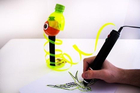 Un lápiz térmico para dibujar en 3D reutilizando las botellas de plástico | LabTIC - Tecnología y Educación | Scoop.it