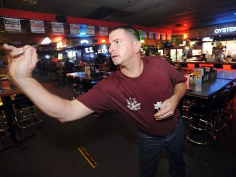 Lakeland Dart Player Doesn't Let Disability Get in Way of True Ability - The Ledger | Differently Abled and Our Glorious Gadgets | Scoop.it