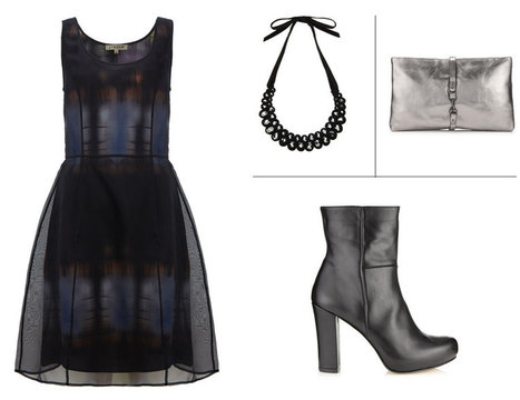 The Perfect Fall Frock: Midnight Organza Dress • Jigsaw Says Blog | Womens Fashion | Scoop.it