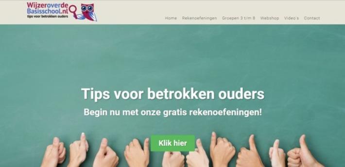 Edu-Curator: WijzeroverdeBasisschool: gratis oefenbladen en uitlegfilmpjes rekenen en taal | Educatief Internet - Gespot op 't Web | Scoop.it