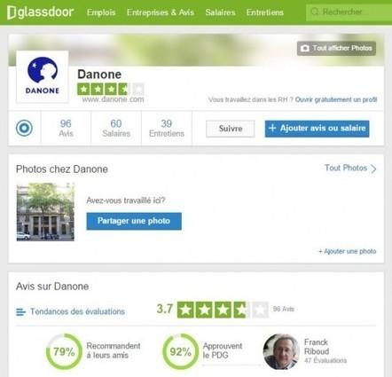 Glassdoor, ce site de notation qui défie la communication interne et la marque employeur de papa ! | Marque employeur | Scoop.it