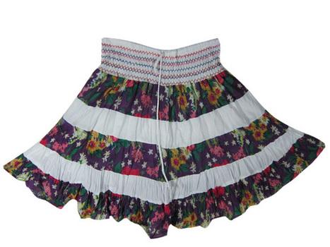 Purple Short Mini Skirts,Hippie Skirt,Smocked Waisted Skirt | women's fashion | Scoop.it