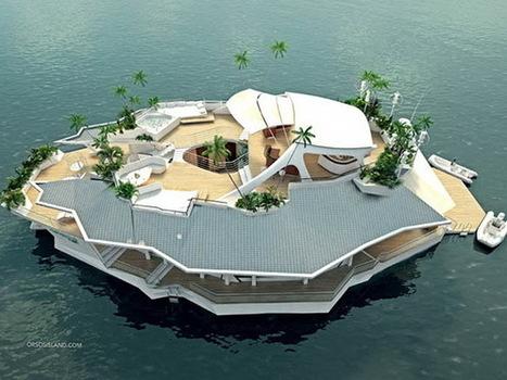 Un hôtel de luxe sur une île flottante | Hospitality Sur et Sous l'eau | Scoop.it