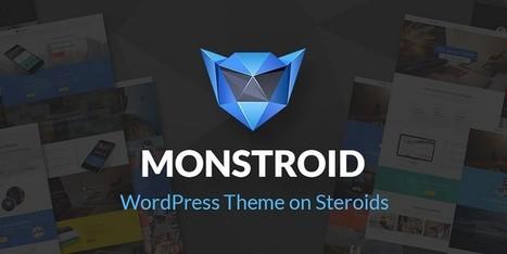 Monstroid - A WordPress Theme on Steroids | Free & Premium WordPress Themes | Scoop.it