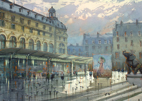 EUGEN GOREAN - FRENCH LANDSCAPE | Galeries artistiques | Scoop.it