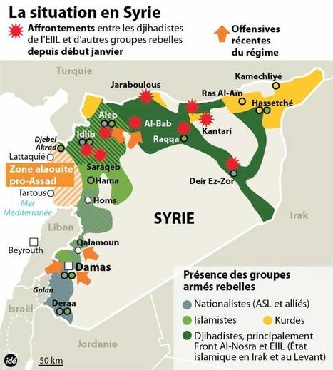 La crise syrienne par les cartes - blog histoire geographie lycée eaubonne | En amont | Scoop.it