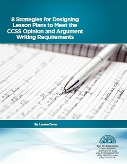 8 Strategies for Designing Lesson Plans to Meet the CCSS Opinion and Argument Writing Requirements | Common Standards | Scoop.it