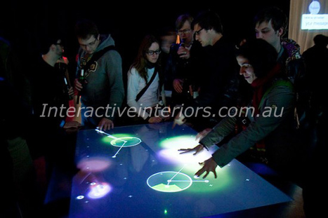 Smart Interactive Interior Designs | Interactive Tables, Floor Projection, Multi Touch Video Wall, Bar Surface and Software Development in Brisbane, Australia | Scoop.it