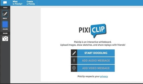 PixiClip- A Great Tool for Creating Screencasts and Tutorials for Your Students ~ Educational Technology and Mobile Learning   Web2 tools in my class   Scoop.it