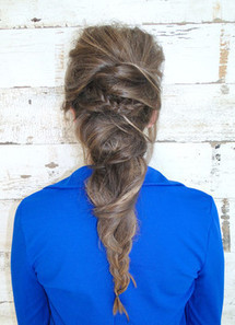 Fall hair trends from Modern Salon, the mermaid ponytail - Examiner.com   hairstyles   Scoop.it