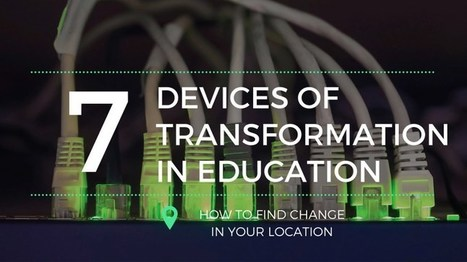 The 7 Devices of Transformation in Education by @coolcatteacher | blended learning | Scoop.it