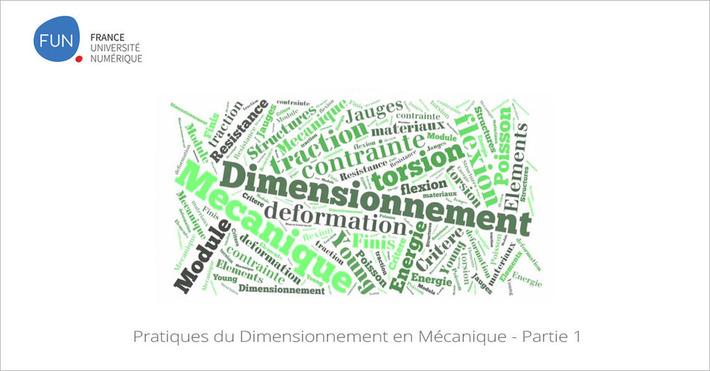 [Septembre] Pratiques du Dimensionnement en Mécanique , 1er partie du MOOC sur les structures | Solutions locales | Scoop.it