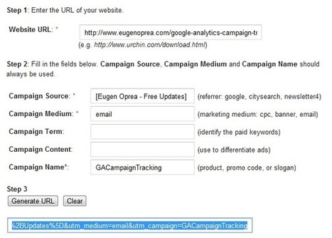 Google Analytics Campaign Tracking - How to Track Marketing Campaigns — Eugen Oprea | Great Social Media Articles | Scoop.it