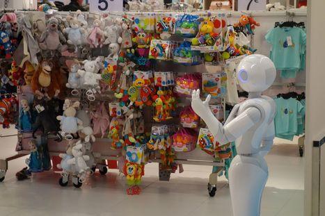 Kiabi recrute un robot pour divertir ses clients | Enseignement Supérieur & Innovation | Scoop.it