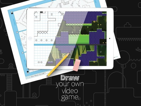 Floors -Game Creator: Draw your own video game. | web learning | Scoop.it
