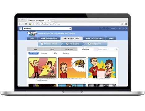 Bitstrips - Comics starring YOU and your Friends | Android Apps in Education | Scoop.it