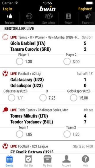 Bwin Sport : L'application mobile vue de plus prêt - WebLife | Veille smartphone | Scoop.it