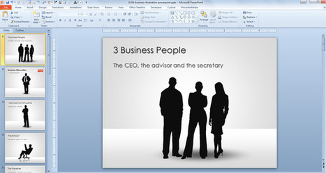 Free Businessman Silhouettes for PowerPoint Presentations | Free PowerPoint Templates 1 | Scoop.it