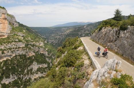 Les Gorges de la Nesque, voie verte d'un jour | voie verte | Scoop.it