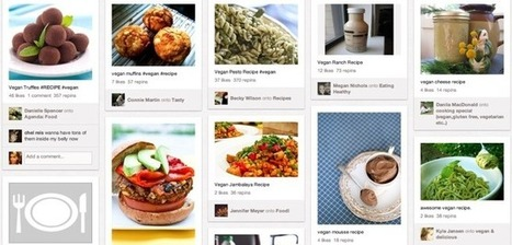 Food is the fastest-growing, most-viral category on Pinterest. | Everything Pinterest | Scoop.it