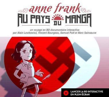 NetPublic » Anne Frank au pays du manga, BD documentaire interactive   Ressources Tice :  lettres , Philosophie   Scoop.it